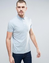French Connection Slim Fit Jersey Polo Shirt