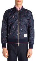 Thom Browne Slim-Fit Bomber Jacket