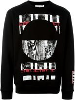 McQ by Alexander McQueen Tribal print sweatshirt