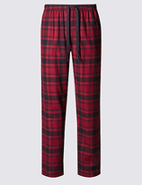 M&s Collection Pure Cotton Stay Soft Pyjama Bottoms