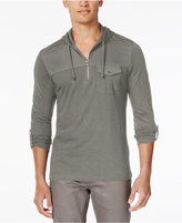 INC International Concepts Men's Travel Long-Sleeve Hoodie Shirt, Only at Macy's