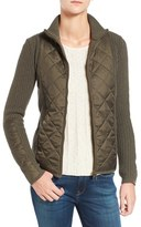 Barbour Women's 'Sporting' Zip Front Quilted Jacket