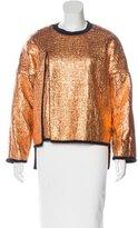 3.1 Phillip Lim Metallic Layered Sweatshirt