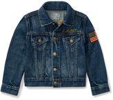 Ralph Lauren 2-7 Embellished Trucker Jacket
