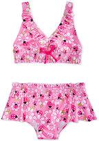 Penelope Mack 2-Pc. Ladybug-Print Bikini Swimsuit, Baby Girls (0-24 months)