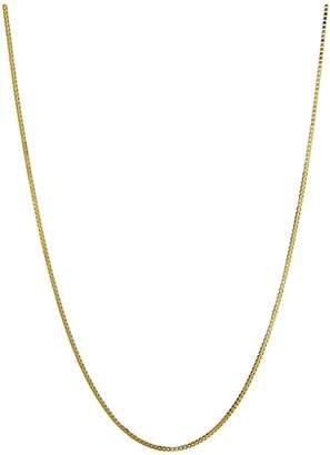 Love Gold 9-Carat 18 inch Gold Pendant Box Chain
