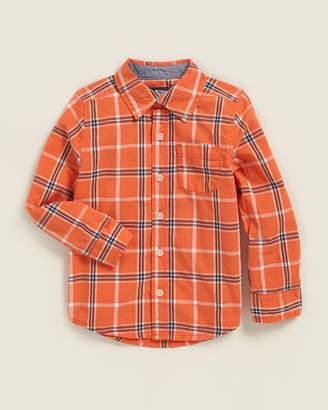 Osh Kosh Toddler Boys) Plaid Pocket Shirt