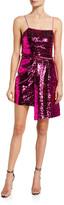 Lani Reversible Sequined Cami Dress