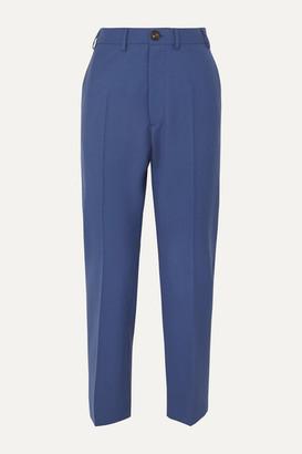 Vivienne Westwood Long George Wool Slim-fit Pants - Blue