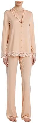 La Perla Tres Souple' Pajama (Petal Pink) Women's Pajama Sets