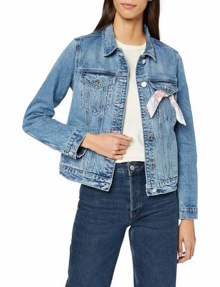 Scotch & Soda Maison Women's Easy Trucker Jacket Recycled Cotton