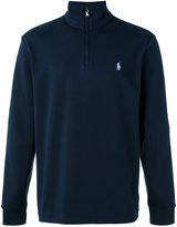 Polo Ralph Lauren zipped collar jumper - men - Cotton - M
