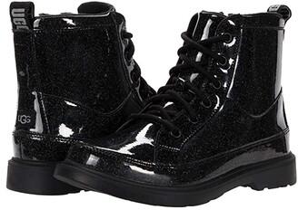 Girls Black Glitter Boots | Shop the