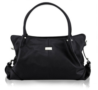 Isoki Anakie Satchel Nappy Bag Onyx Black