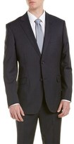 Zanetti Wool Suit With Flat Front Pant.