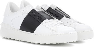 Valentino Garavani Open leather sneakers