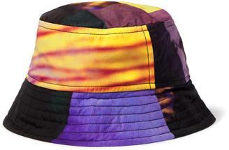 Dries Van Noten Printed Shell Bucket Hat - Men - Yellow
