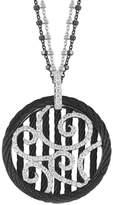 Alor Noir 18K & Stainless Steel 0.49 Ct. Tw. Diamond Necklace