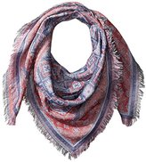 D&Y Women's Yarn Dyed Aztec Square