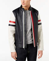 Tommy Hilfiger Men's Intrepid Leather Jacket, Created for Macy's