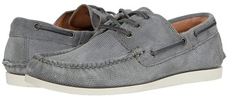 Frye Briggs Boat Shoe (Steel Diamond Suede) Men's Lace up casual Shoes