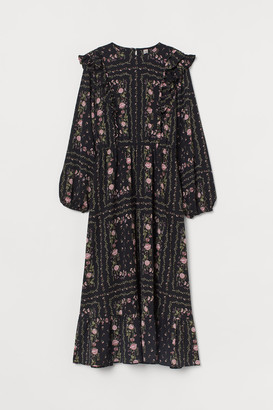 H&M Flounced Dress