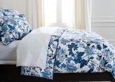 Ethan Allen Blue and White Floral Full/Queen Duvet Cover