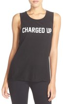Private Party Women's 'Charged Up' Muscle Tank