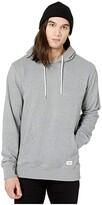 Quiksilver Essentials Hoodie Terry (Light Grey Heather) Men's Clothing