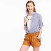 J.Crew Linen short with side ties