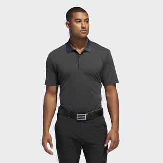 adidas Two-Color Club Stripe Polo Shirt