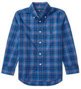 Ralph Lauren Boys 2-7 Plaid Poplin Shirt