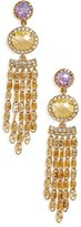 Jenny Packham Women's Crystal Chandelier Earrings