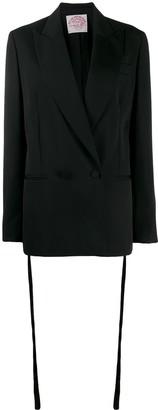 Stella McCartney embroidered straps blazer