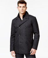 GUESS Wool-Blend Peacoat