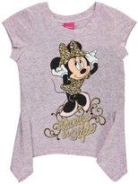 """Disney Minnie Mouse Little Girls' Toddler """"Always in Style"""" T-Shirt"""