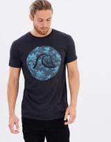 Quiksilver Mens Palm Bubble T Shirt