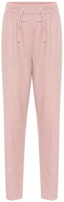 Roksanda Palmira wool-flannel pants