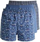 Jockey 3 Pack Boxer Shorts Night Blue
