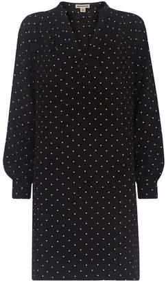 Whistles Spot Print Shift Dress