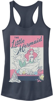 Licensed Character Juniors' Disney's The Little Mermaid Vintage Poster Tank