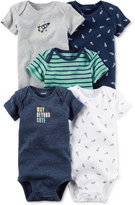 Carter's 5-Pk. Rocket Bodysuits, Baby Boys (0-24 months)