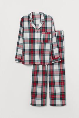 H&M H&M+ Flannel Pajamas