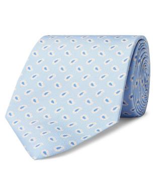 Emma Willis 9cm Paisley Silk Tie