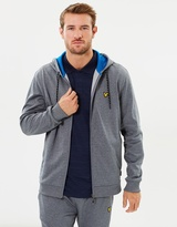 Lyle & Scott Hill Fleece Hooded Track Top