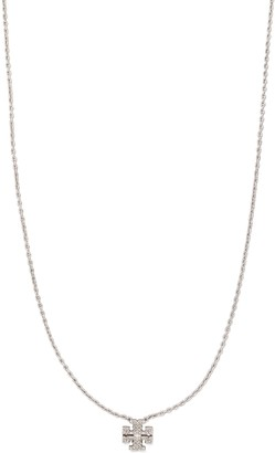 Tory Burch Kira Pave Delicate Necklace