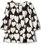 Gap Hearts long sleeve dress