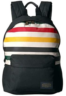 Pendleton Canopy Canvas Backpack (Glacier Stripe) Backpack Bags