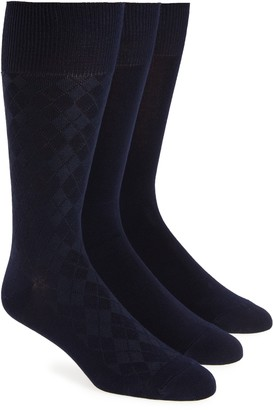 Calvin Klein 3-Pack Dress Socks