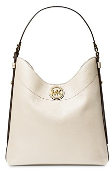 MICHAEL Michael Kors Bowery Large Leather Shoulder Hobo